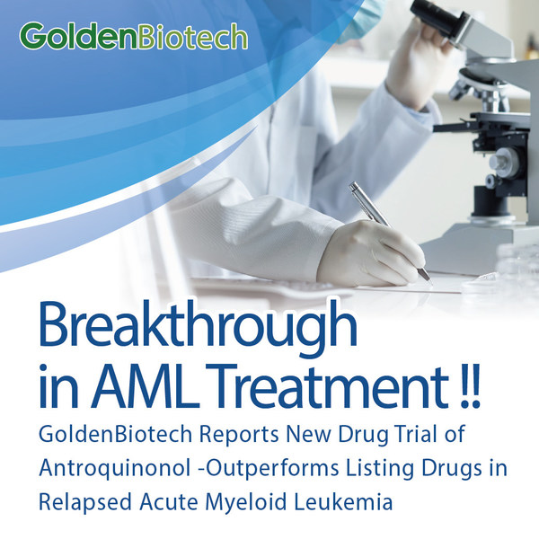 Breakthrough in AML Treatment! GoldenBiotech's new drug clinical trial of Antroquinonol.
