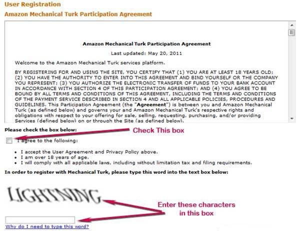 signup mturk step 4