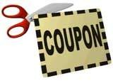 saving discounted coupon