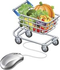online grocery organic food