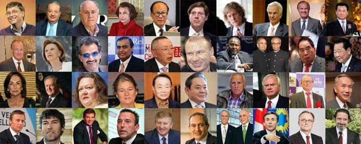 Do You Know These Richest Person from Top 40 Countries
