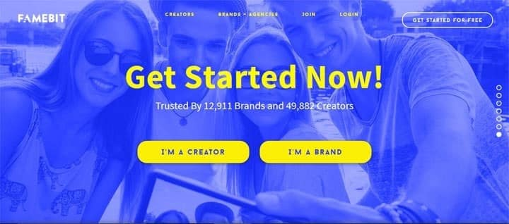 How to Make Money from Your Social Profile with Famebit