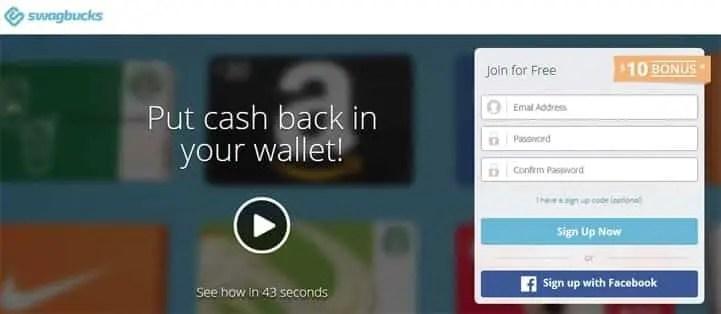 swagbuck free cash