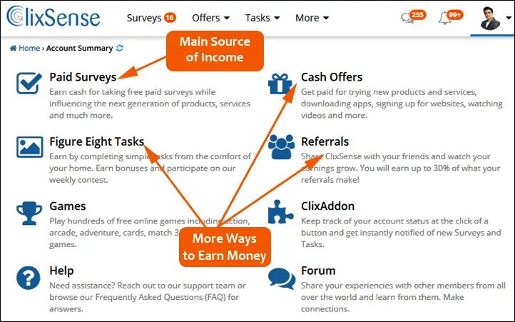 clixsense_earning