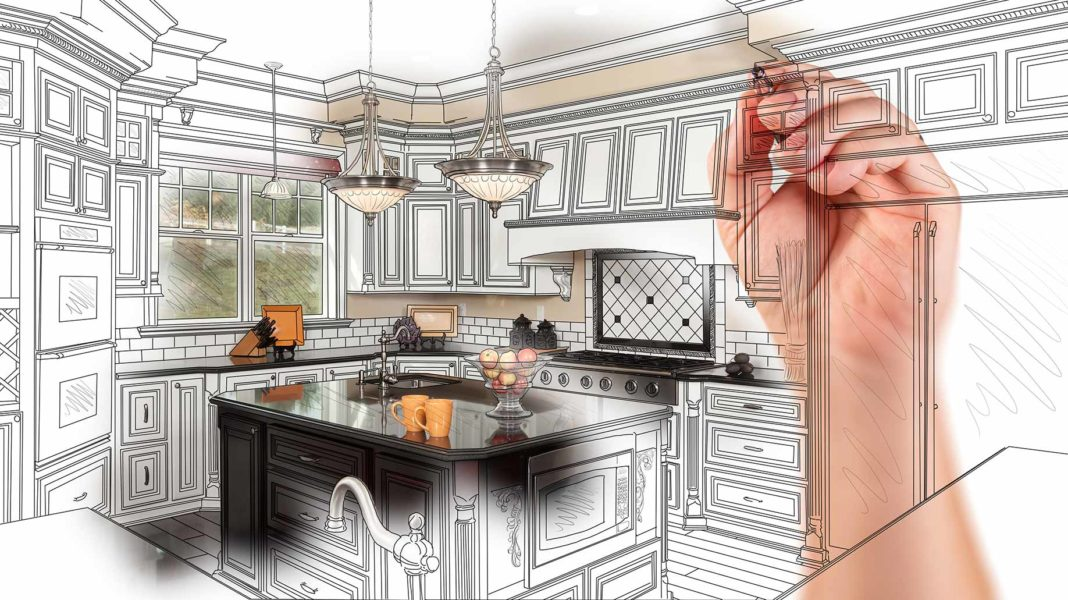 kitchen remodel how to kohler single handle faucet repair your on a budget costs design ideas hand drawing renovation