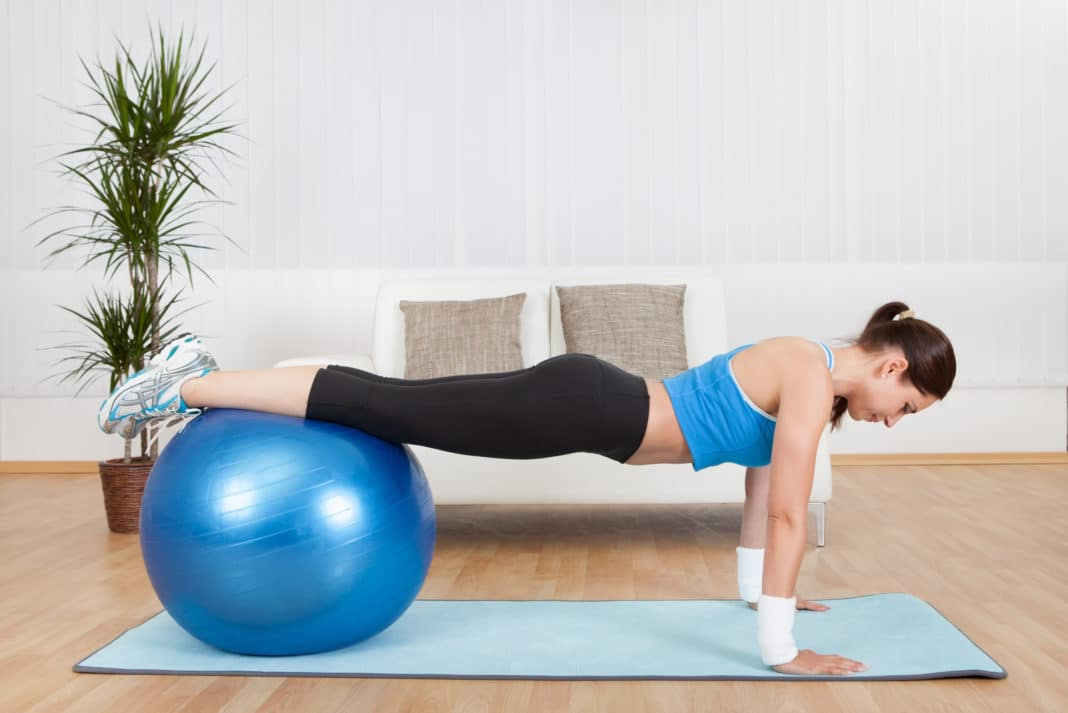 10 Best Stability Ball Exercises  Workouts
