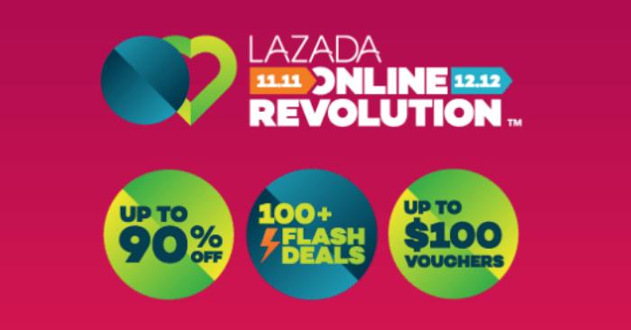 Don't Miss Lazada's 1111 Online Revolution Sale! Enjoy Up