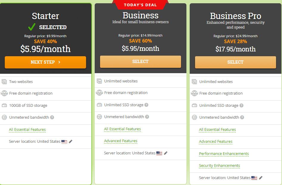 hostpapa price