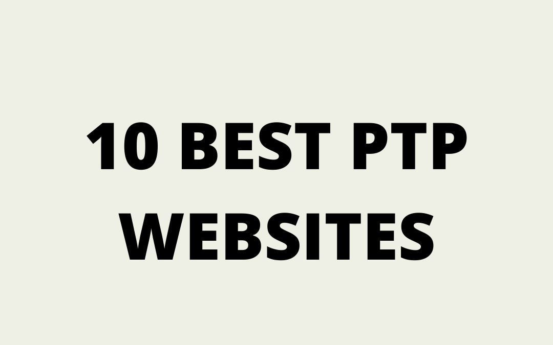 BEST PTP WEBSITES