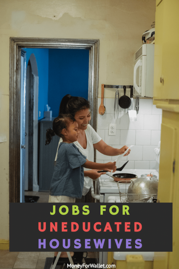 Jobs For Uneducated Housewives
