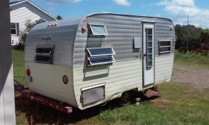 meet our debt free Little Lucy vintage trailer