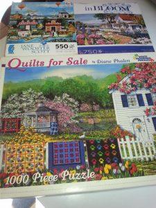Decluttering puzzles