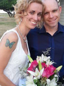 Beachy Wedding priceless moments