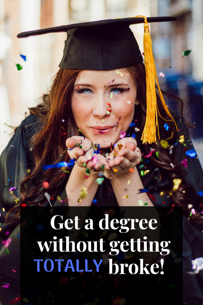 There's no denying that getting a degree is expensive! However, I have some interesting tips for graduating with less debt. #avoiddebt #universityideas via @moneygremlin