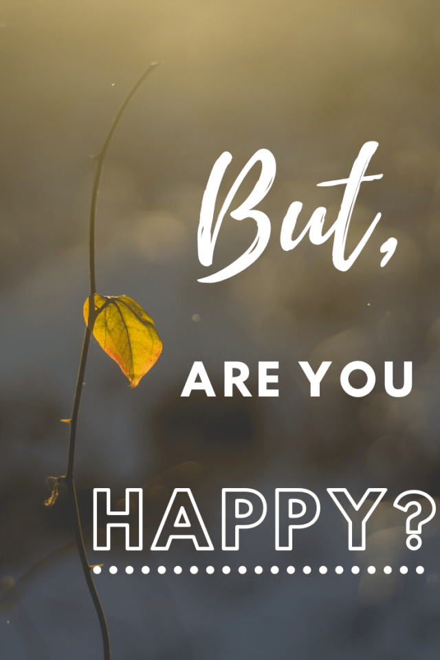 """I'm all for having intense goals, but are you happy? It's important to not leave happiness for """"later"""". My personal reflection of finding balance. #becominghappy #financialindependence #happynow"""