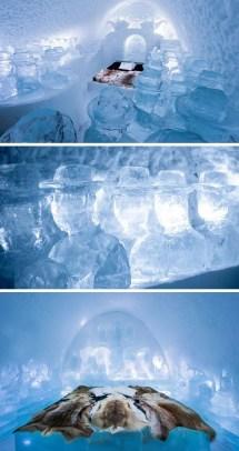 Ice Hotel Art Suite