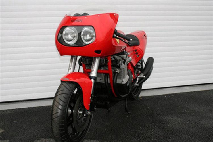 Ferrari Motorcycle 1