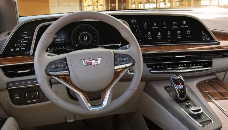 Interior of a Cadillac 1