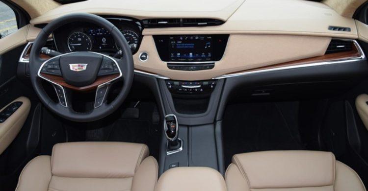 Interior of a Cadillac 2