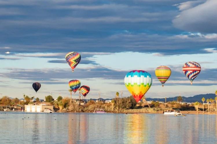 Lake Havasu Balloon Festival and Fair
