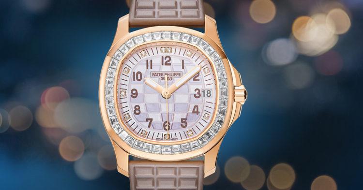 Patek Philippe 5072 Rose Gold Ladies' Aquanaut