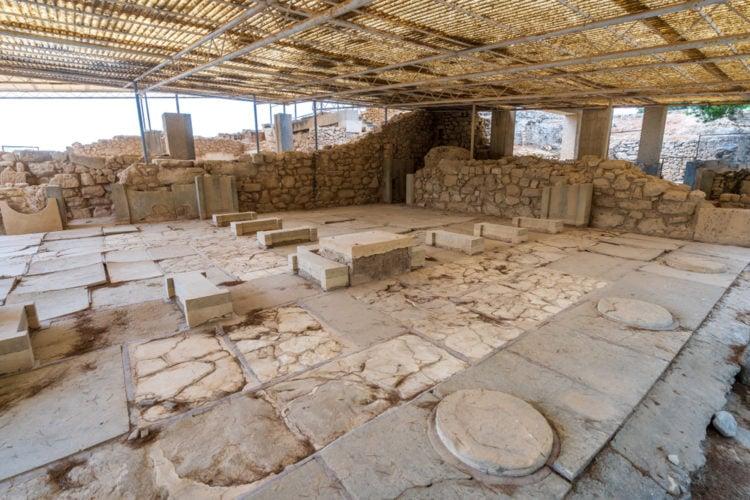 Ruins of Malia's Minoan Palace