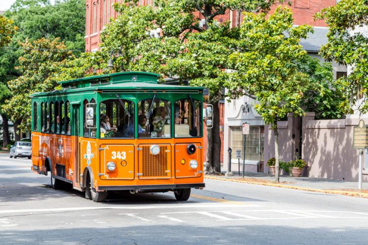 Take a Trolley Tour