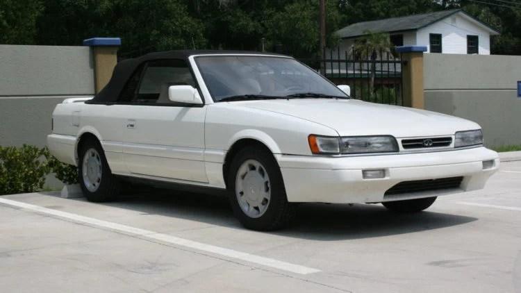 1992 Infiniti M30 Convertible
