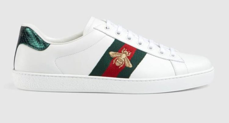 Gucci Men's Ace Embroidered Sneakers