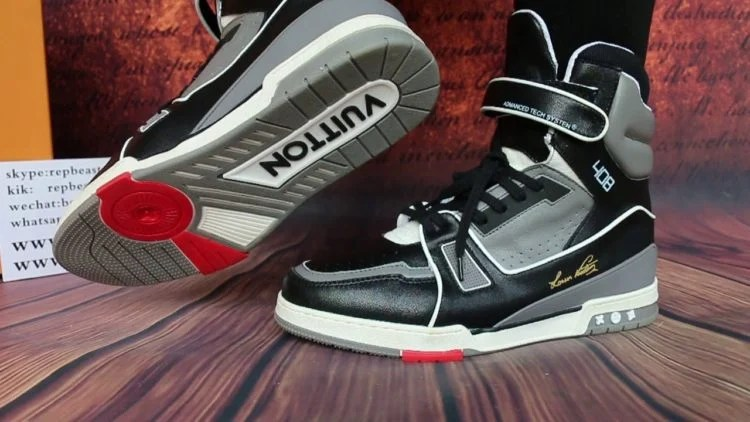 Louis Vuitton Trainer Sneaker Boots