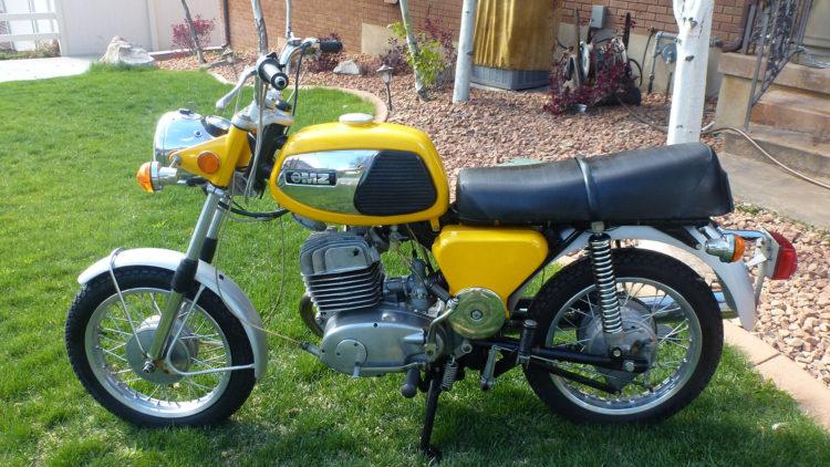 1974 MZ 250
