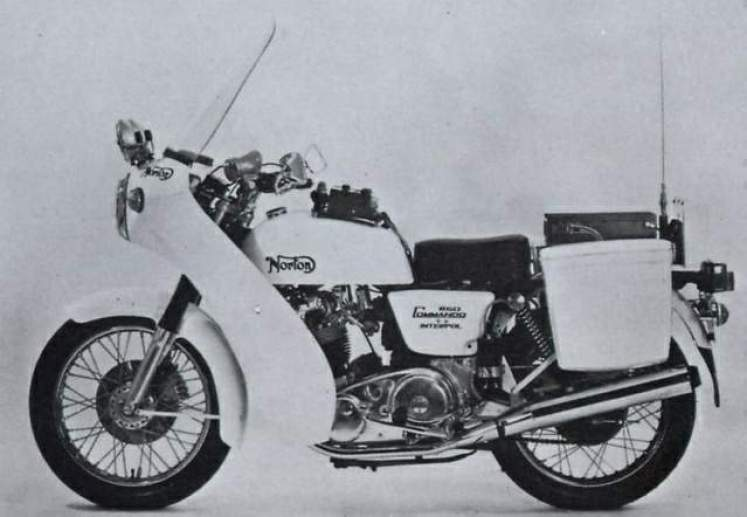 1976 Norton Commando Interpol