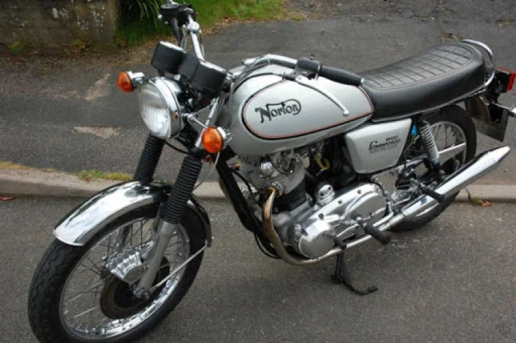 1978 Norton Commando