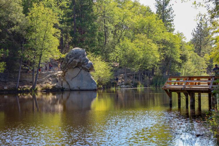 Picnic at Lake Fulmor