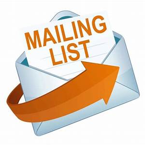 Add Your Name To Our Mailing List