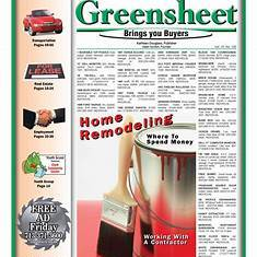 greensheet weekly newspaper