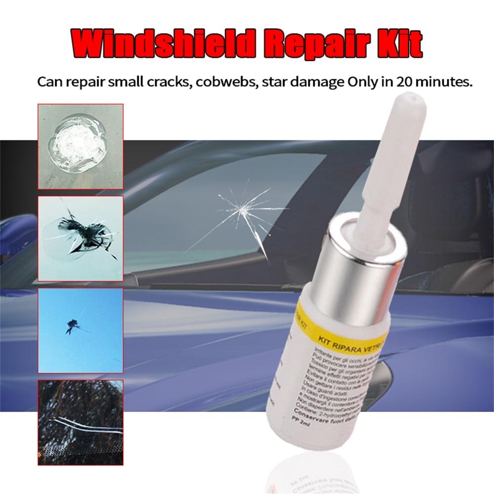 Windshield Repair Kit Car Window Glass Scratch Crack Restore Repair Tool Car Window Screen Polishing Car Styling