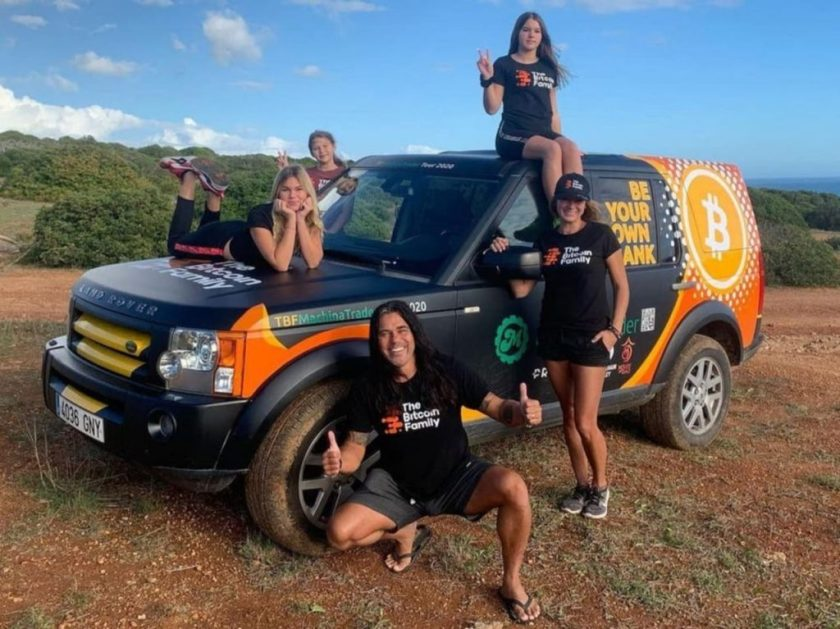 Family put everything they had into Bitcoin and now tour the world