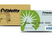 Fidelity Visa Gold Silver Large