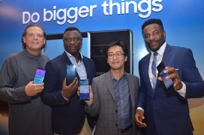 Samsung Launches the Galaxy Note 8 in Nigeria