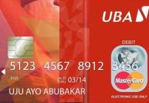 UBA card