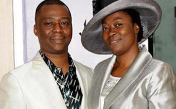 Dr Daniel Olukoya with his wife, Mrs Shade Olukoya