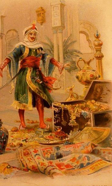 Aladin's Gold