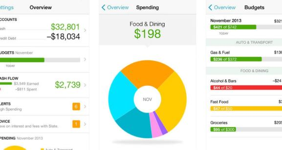 mint to track budget