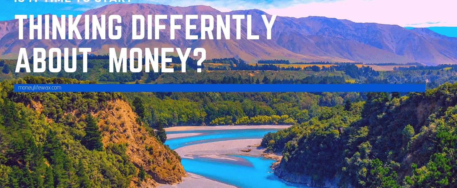 think differently about money