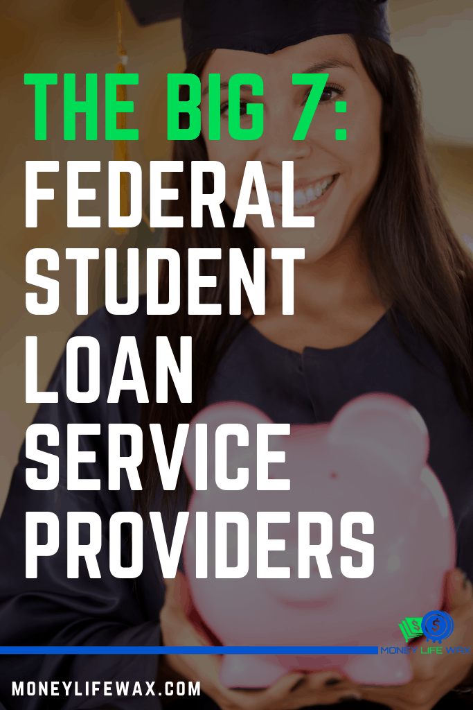 list of federal student loan service providers
