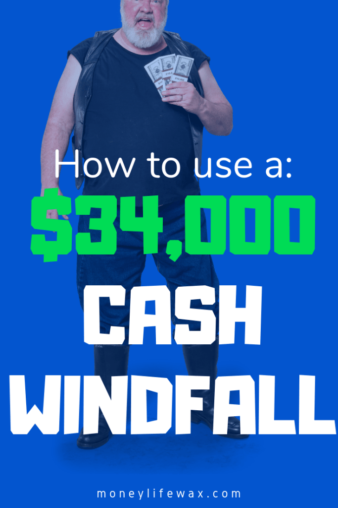how to use a windfall the right way