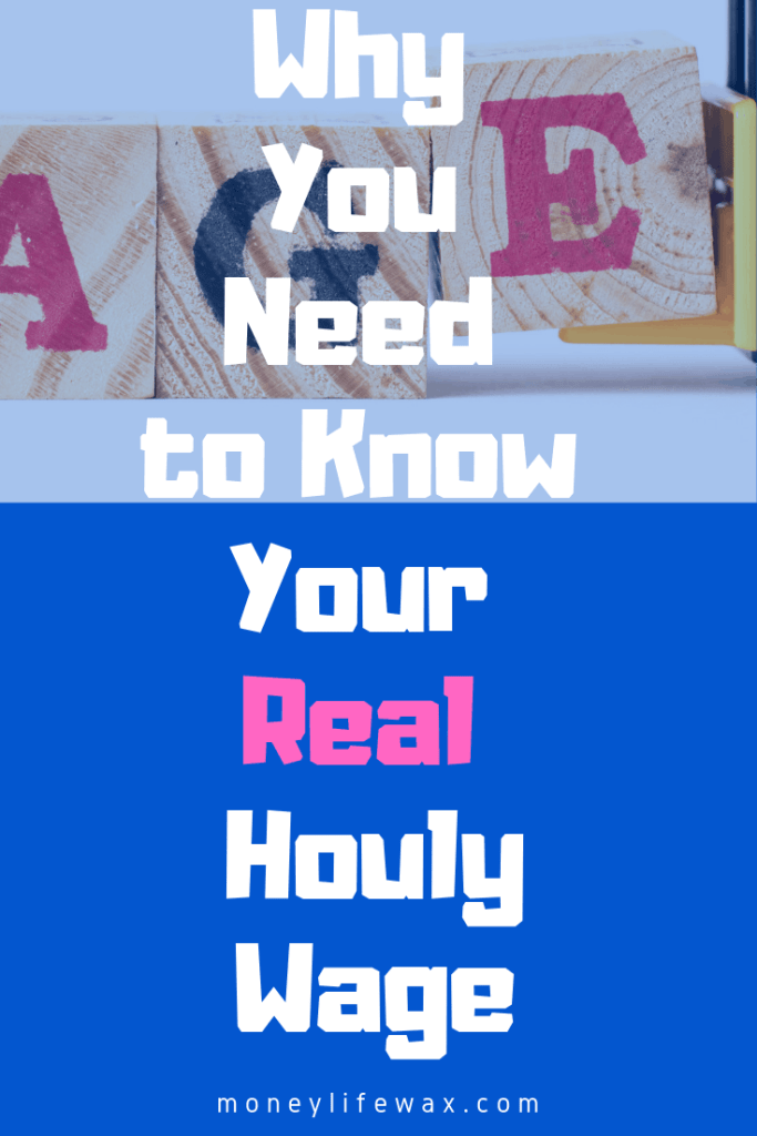 how to find out my real hourly wage