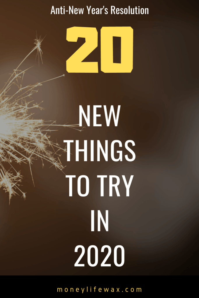 20 things to try in 2020