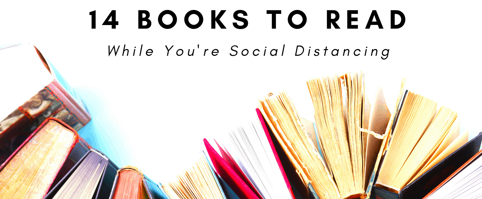 books to read while social distancing